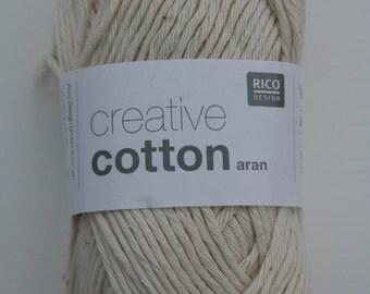 Rico Creative Cotton Aran Natural 060