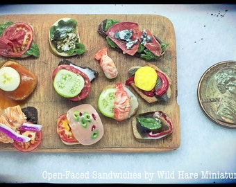 Polymer Miniature Sandwiches