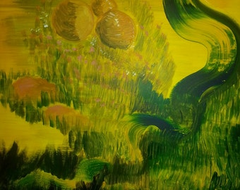 Flow with Nature (Painting)