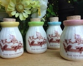 kittens, cats, beekeeper, honey jar, vintage, milk bottle, nurse, sting, cat milk bottle, antique milk bottle