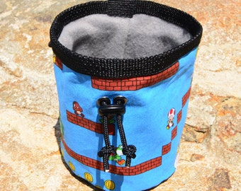 "SuperMarioBros. Climbing Chalk Bag (5.5""x4.5"")"