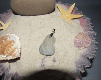 Handmade Beach Stone Pendant