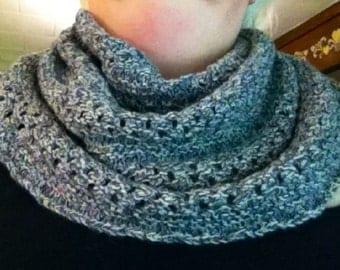 Hand Knit Starshower Cowl