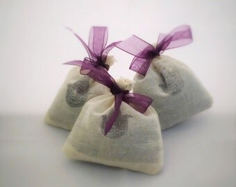 Dried Lavender Satchets (3)