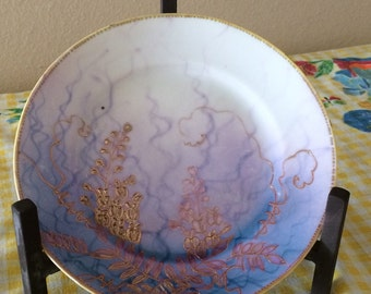 CLEARANCE 50% OFF hand painted 1900's plate