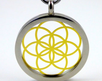 Seed Of Life Sacred Geometry Pendant and Chain  SGSOLP-23