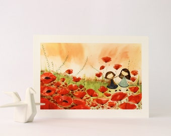 Poppies / Print