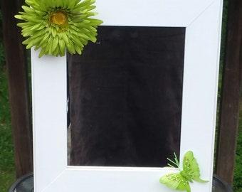 Mirror, Decorative mirror, Flower mirror, Butterfly Mirror, Spring Mirror