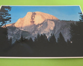 Half Dome at Sunset Postcard-SE-309
