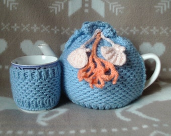 Ocean Tea Cosy
