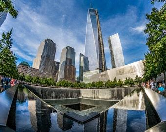 9/11 Memorial and One World Trade Center