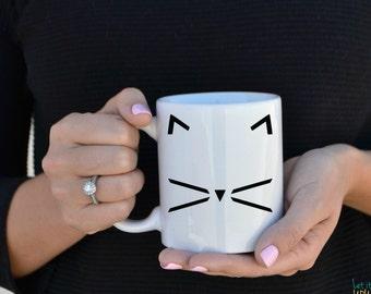 Cat Mug- Cat Lover Coffee Mug
