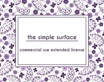 the simple surface - commercial use extended license