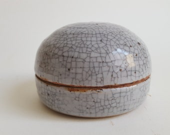 Handmade Ceramic Lidded Jar
