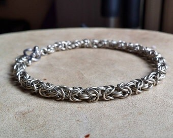 Chainmail Bracelet Nickle Silver