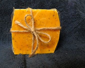 Red Palm Oil Handcrafted Soap