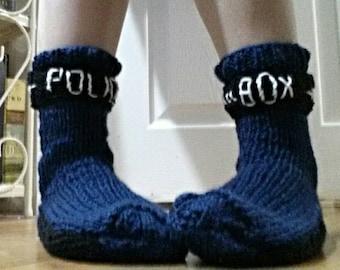 Doctor Who Tardis Police Box Socks