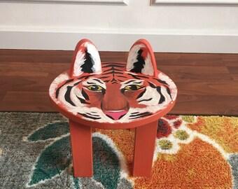 RAWWWRRR Tiger stool