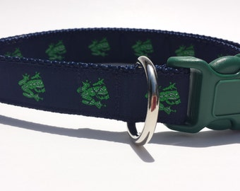 Frog Dog Collar (L/XL)