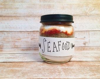 Seafood Rub- dry rub in a jar- dry rub- bbq rub- bbq rub in a jar