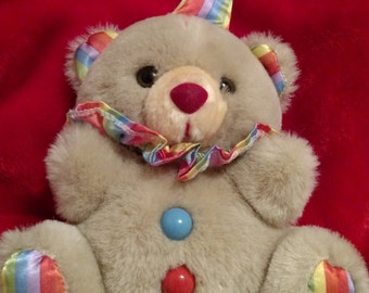 Vintage Clown Bear