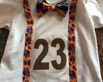 Cavs Shirt with Bow Tie