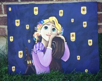 Disney painting Rapunzel-Tangled