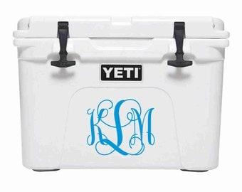 Personalized YETI Roadie 20,  Yeti Roadie 20 Cooler, YETI Ice Chest, YETI Custom Decal, 4th of July - Groomsmen Gift - Corporate Gift