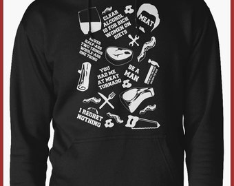 Parks and recreation Ron Swanson Hoodie