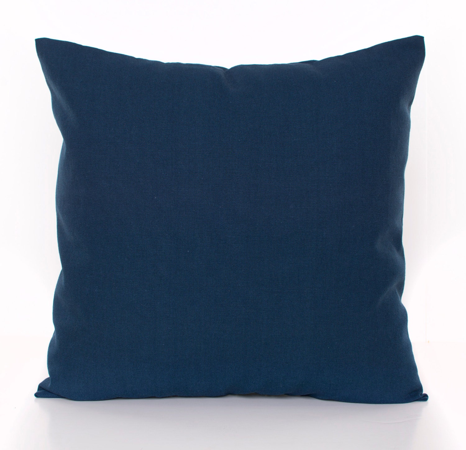 Solid Navy Throw Pillow Cover Navy Pillows Navy Blue Toss
