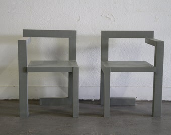 "Chair ""free to Rietveld"""