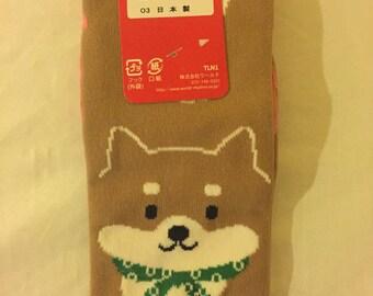 Shiba Inu (柴犬) Socks
