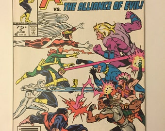 X-Factor #5! First cameo appearance of Apocalypse! Marvel 1986