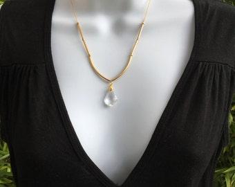 Chic necklace Swarovski pendant