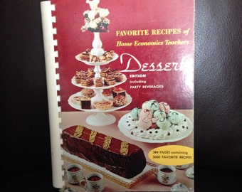 1963 Favorite Recipes Cookbook