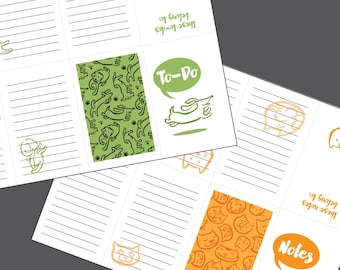 Pocket to-do lists • Cat & Dog Edition