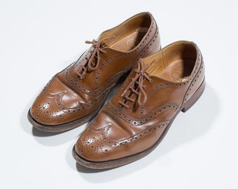 Church's black leather Brogues-Brown leather brogues