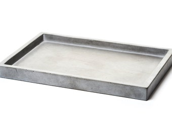 Concrete Rectangular Tray