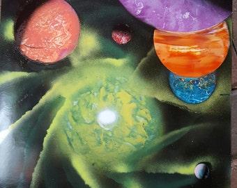 Galaxy Space Scene (14x22)