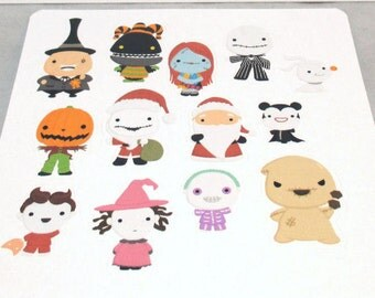 This Is Halloween - Character Stickers