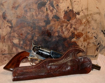 1860 Army Historical Leather Holster right draw