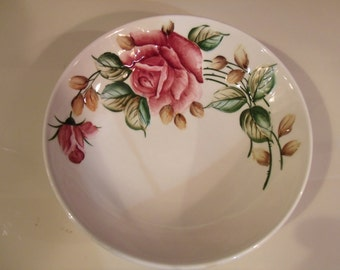 Vintage glazed Porcelain Bowl
