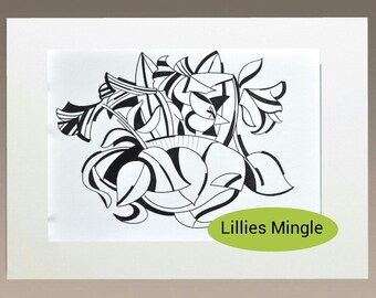 Learn to draw download - Lillies Mingle