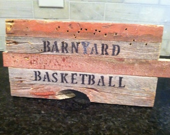 Rustic Barn Wood Signs