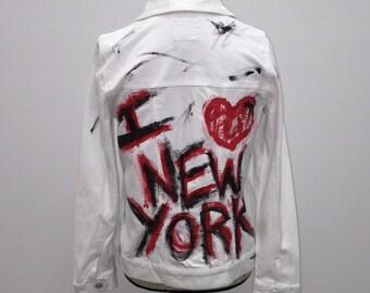 I heart New York Jean jacket