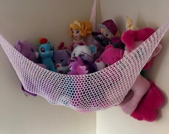 Soft toy hammock