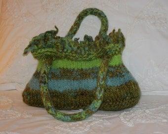 Felted Spring Handbag