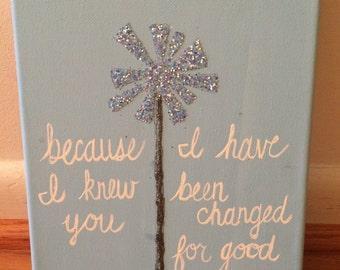 Glinda Inspired Canvas