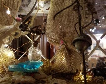 Fairy Dwelling in Birdcage