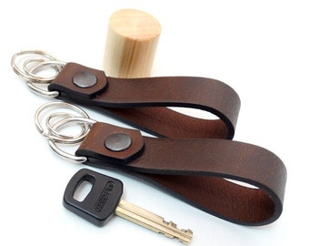 Keychain leather keychain